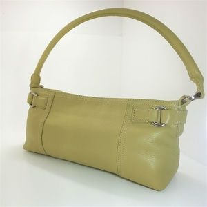 Ann Taylor Mini Leather Hand Bag